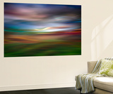 Palouse Evening Abstract Wall Mural by Ursula Abresch