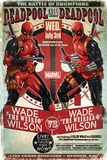 Deadpool- Wade Vs Wade Reprodukcje