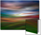Palouse Evening Abstract Posters van Ursula Abresch