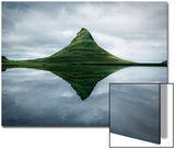 Kirkjufell the Meditation Place Prints by Marco Carmassi