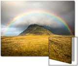 Heaven's Rainbow, Iceland Art by Marco Carmassi
