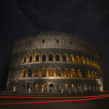 Colosseum Ancient History Photographic Print by Marco Carmassi