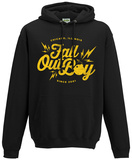 Hoodie: Fall Out Boy- Bomb Script Logo Mikina s kapucí
