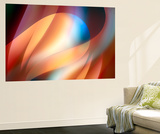 Curves Wall Mural by Ursula Abresch