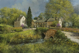 First Blossom, Cotswolds Giclee Print by Clive Madgwick