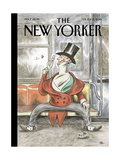The New Yorker Cover - February 8, 2016 Regular Giclee Print by Ricardo Liniers