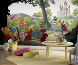Disney Princess Snow White Happily Ever After XL Chair Rail Prepasted Mural Wallpaper Mural