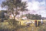 Into New Pastures Gicléedruk van Clive Madgwick