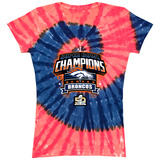 Juniors: Superbowl 50- Denver Broncos Champion Spiral T-shirts