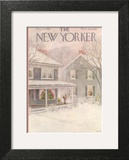 The New Yorker Cover - December 27, 1952 Prints by Edna Eicke