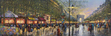 Paris Champs Elysees Giclee Print by Guy Dessapt