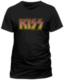 Kiss- Vintage Logo Magliette