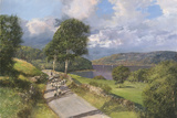 Loch Tummel Giclee Print by Clive Madgwick