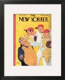 The New Yorker Cover - September 23, 1933 Art Print by Abner Dean