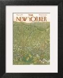 The New Yorker Cover - May 22, 1971 Art Print by Ilonka Karasz