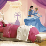 Disney Princess Cinderella So This Is Love XL Chair Rail Prepasted Mural Wallpaper Mural