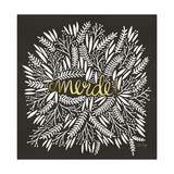 Merde – White on Black Giclee Print by Cat Coquillette
