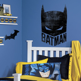 Batman Mask Peel And Stick Giant Wall Graphic Wall Decal