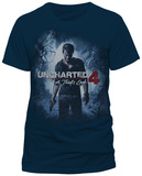 Uncharted 4- Thief Cover Art (Slim Fit) T-Shirt