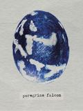 Peregrine Falcon Egg Giclée-trykk av Chris Dunker