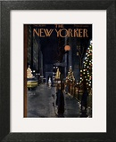 The New Yorker Cover - December 10, 1955 Wall Art by  Alain