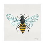 Honey Bee Giclée-tryk af Cat Coquillette