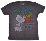 Woodstock- Music Festival T-shirts