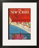 The New Yorker Cover - July 24, 1965 Wall Art by Beatrice Szanton