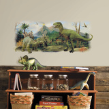 Dinosaurs Giant Scene Peel And Stick Wall Graphic Wall Decal
