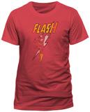 The Flash- Distressed Strike (Slim Fit) T-shirts