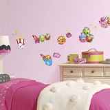 Shopkins Peel And Stick Wall Decals Wall Decal