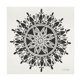 Mandala in Grey Giclee Print by Cat Coquillette
