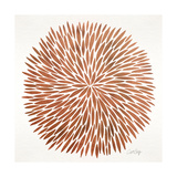 Burst in Rose Gold Palette Giclee Print by Cat Coquillette