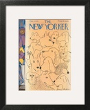 The New Yorker Cover - February 9, 1946 Wall Art by James Thurber