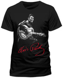 Elvis Presley- Red Signature T-Shirts