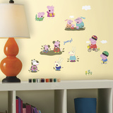 Peppa Pig Peel And Stick Wall Decals Wall Decal