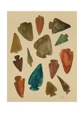 Arrowheads Giclee Print by Cat Coquillette