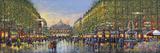 Paris Avenue de l'Opera Giclee Print by Guy Dessapt