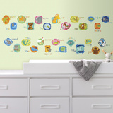 ABC Animal Peel And Stick Wall Decals Wall Decal