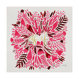 As If - Pink Lámina giclée por Cat Coquillette