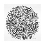 Burst in Grey Palette Giclee Print by Cat Coquillette