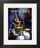 The New Yorker Cover - January 4, 1958 Art Print by Arthur Getz