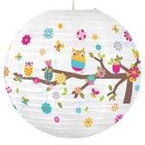 Zutano Owls Paper Lantern Novelty