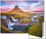 Kirkjufell autumn colors, Iceland Art by Marco Carmassi