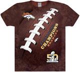 Superbowl 50- Denver Broncos World Champions T-skjorter