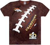 NFL: Superbowl 50- Denver Broncos World Champions T-shirts