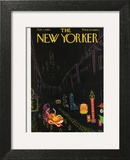 The New Yorker Cover - February 7, 1959 Wall Art by Robert Kraus
