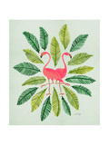 Flamingos Giclee Print by Cat Coquillette