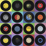 Record Collection Giclee Print by Ben James