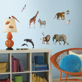 Animal Of The World Peel And Stick Giant Wall Decals Wall Decal